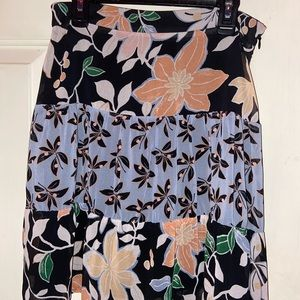Floral skirt from the loft new before worn